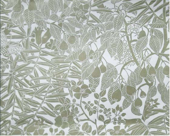 Hamilton Weston Marthe Armitage Wild Pear Wallpaper