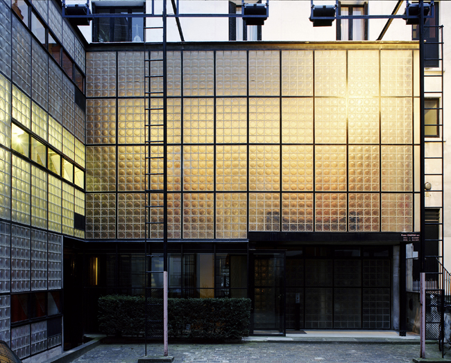 Pierre Chareau Glass House (Courtesy the Jewish Museum Press Office)