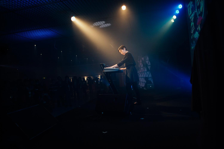 Manami Matsumae performing at Bit Summit MMXIV