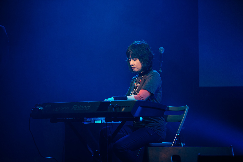 Saori Kobayashi on stage