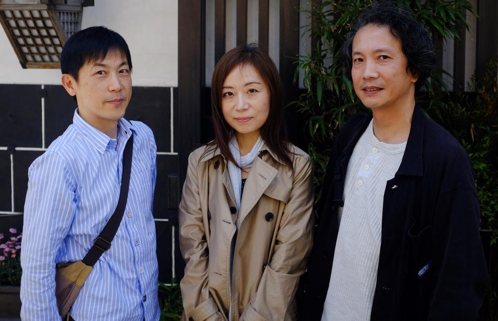 Kajiya Music members: Keiji Yamagishi (Ninja Gaiden 1), Kaori Nakabai (Ninja Gaiden 3) and Ryuichi Nitta (Ninja Gaiden 1 & 2).