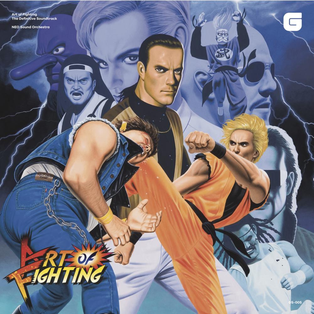 GS-005   龍虎の拳  オリジナルサウンドトラック CD・アナログレコード盤