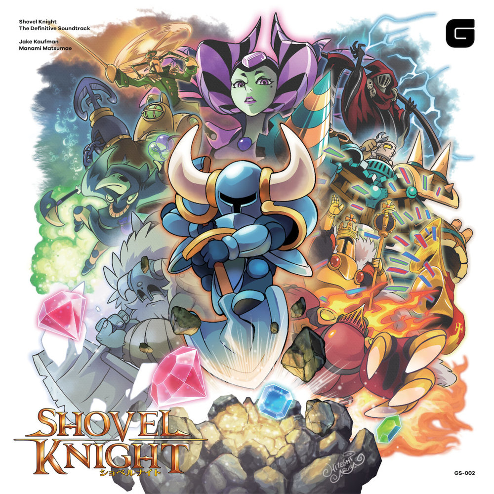 Shovel Knight Original Soundtrack CD: ¥2,100