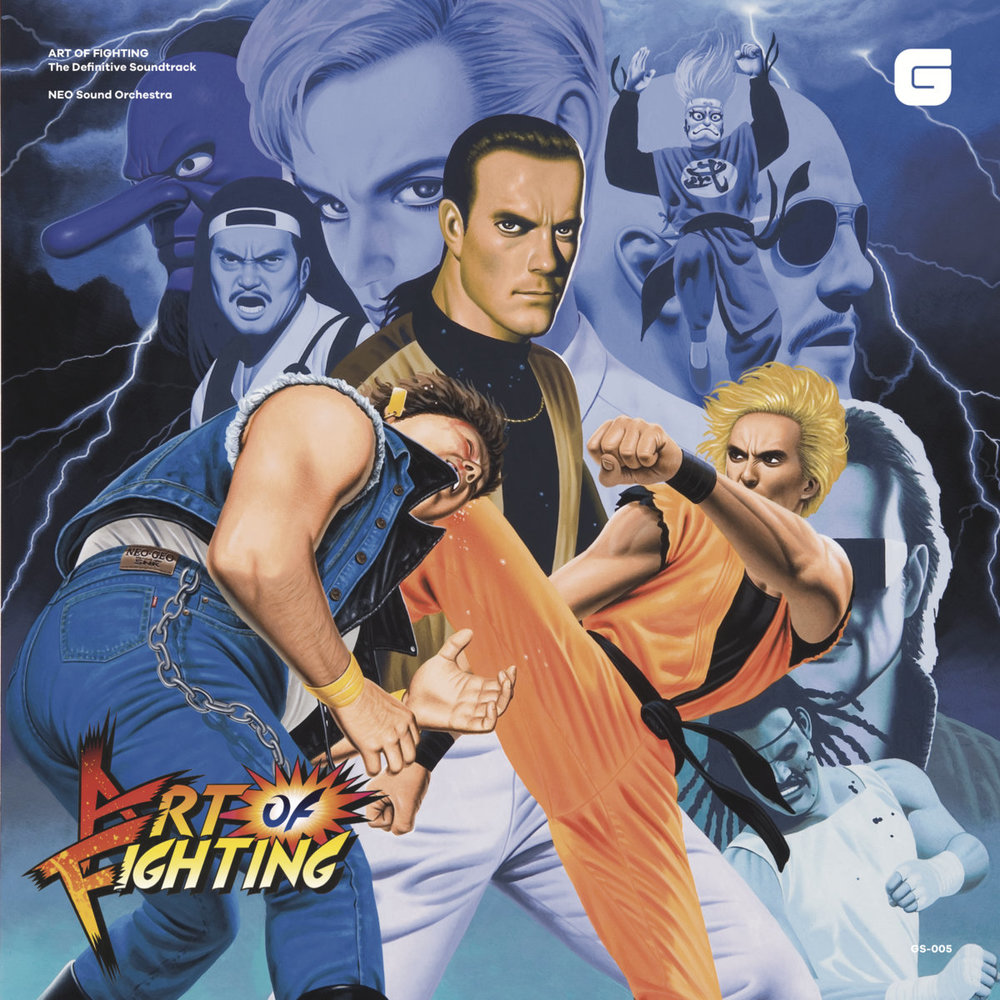 ART OF FIGHTING The Definitive Soundtrack CD: ¥1,620