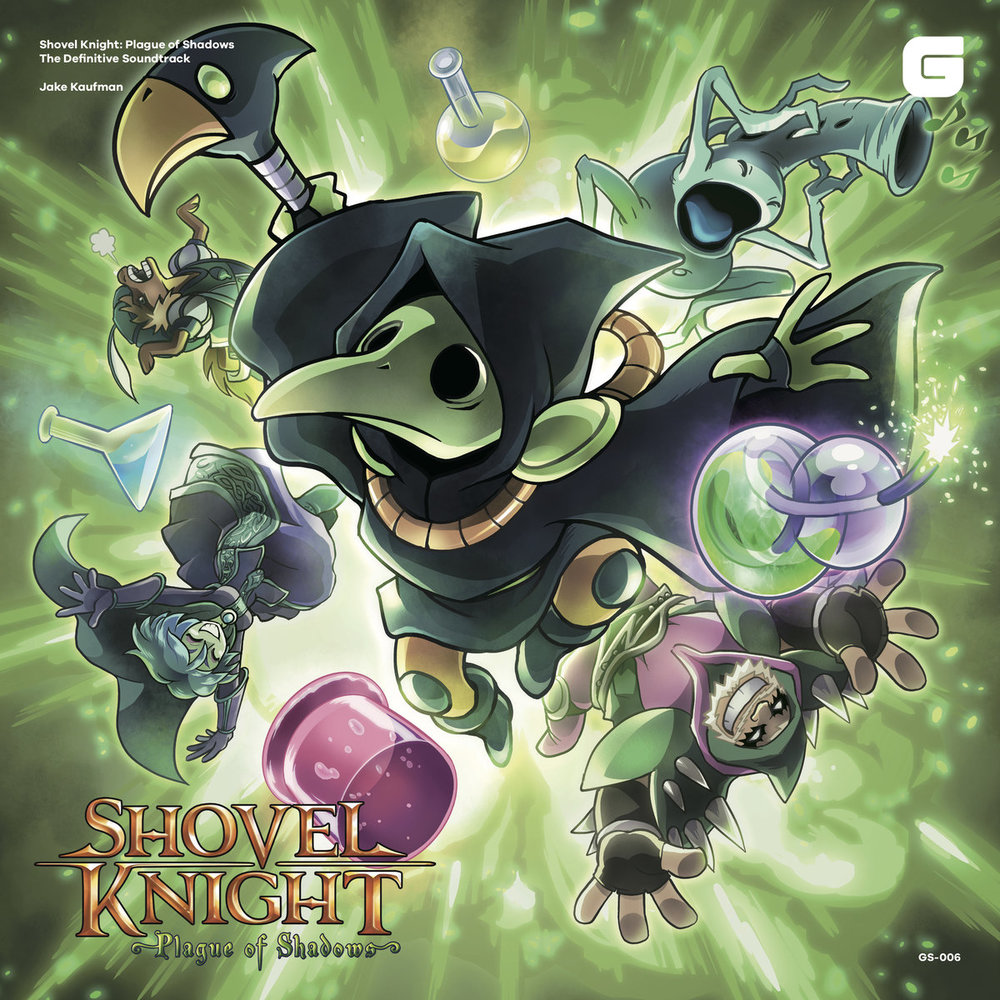Shovel Knight: Plague of Shadows Original Soundtrack   CD: ¥1,620 / LP: ¥3,000