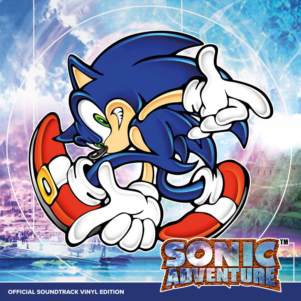 SONIC ADVENTURE OFFICIAL SOUNDTRACK VINYL EDITION LP: ¥5,940