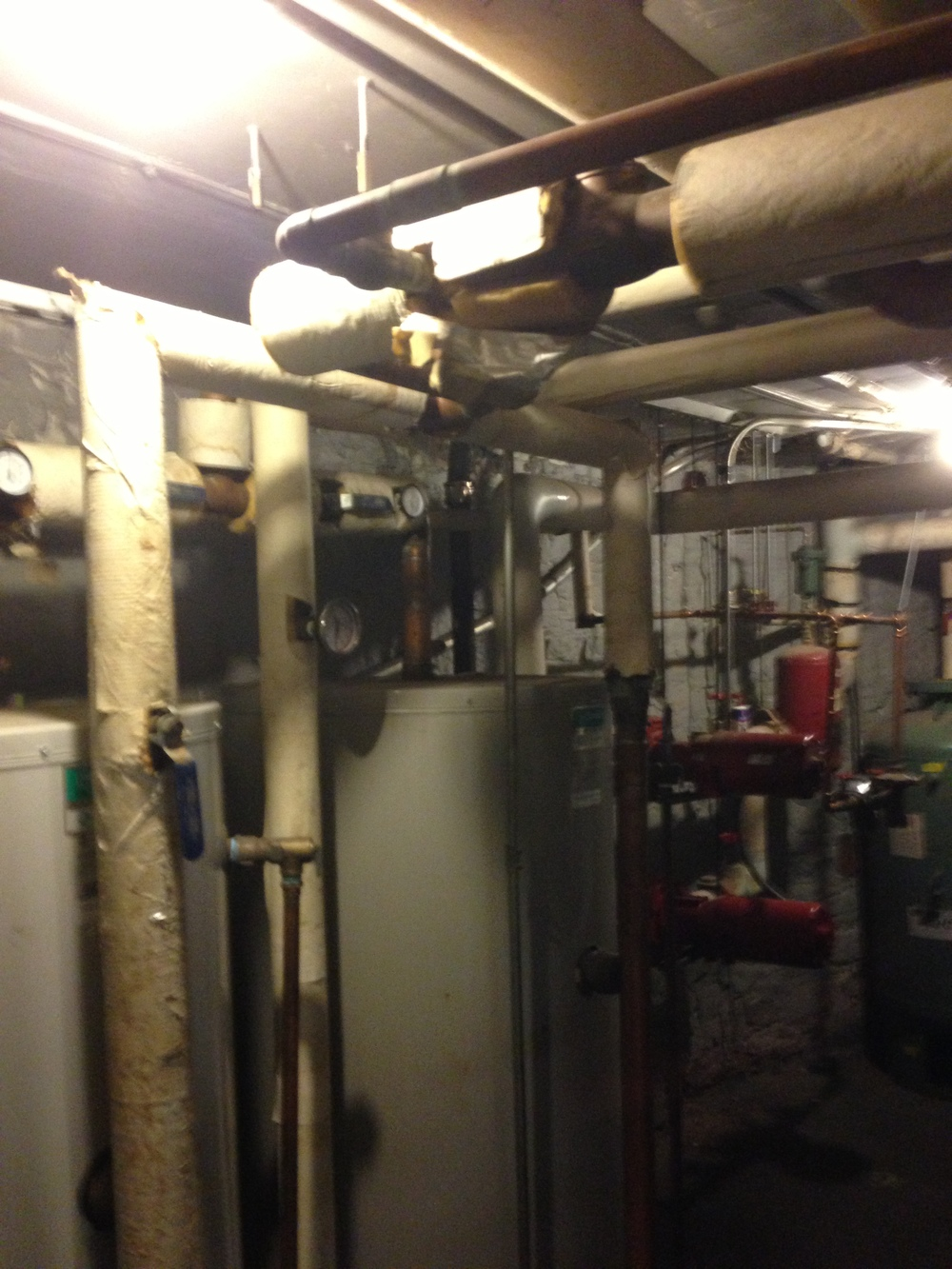 Before: Water heaters