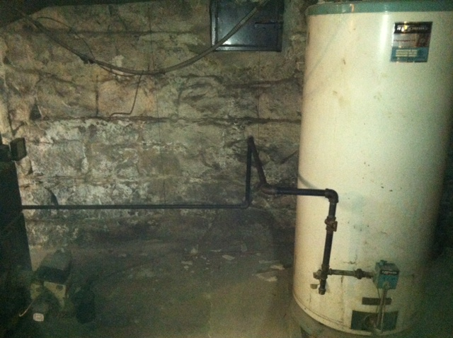 Before: water heater