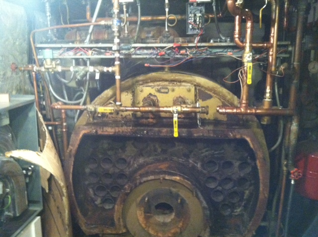 Before: boiler