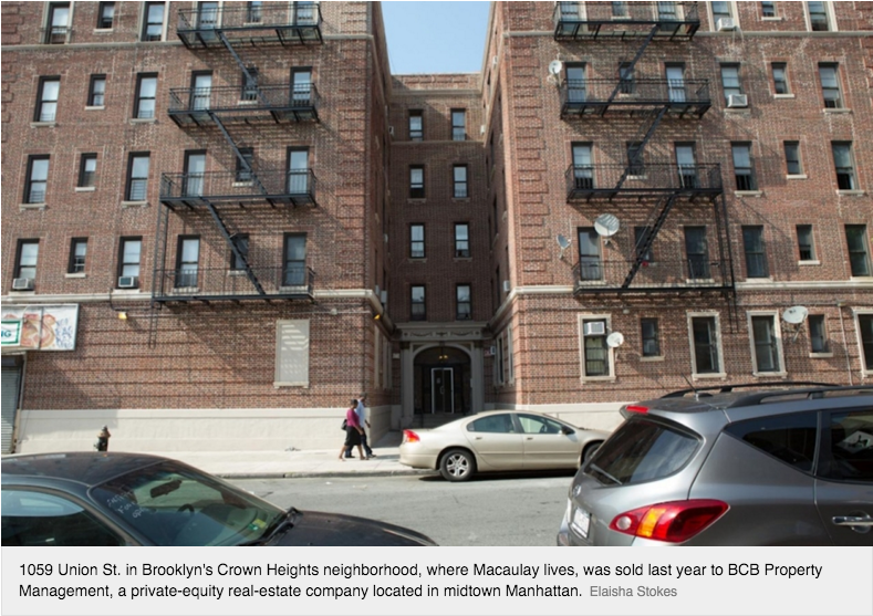 8dc4b9f10cbb9 BROOKLYN, N.Y. — For the last 50 years, Nefertiti Macaulay's family has  lived in a one-bedroom apartment at 1059 Union St., in Brooklyn's Crown  Heights ...