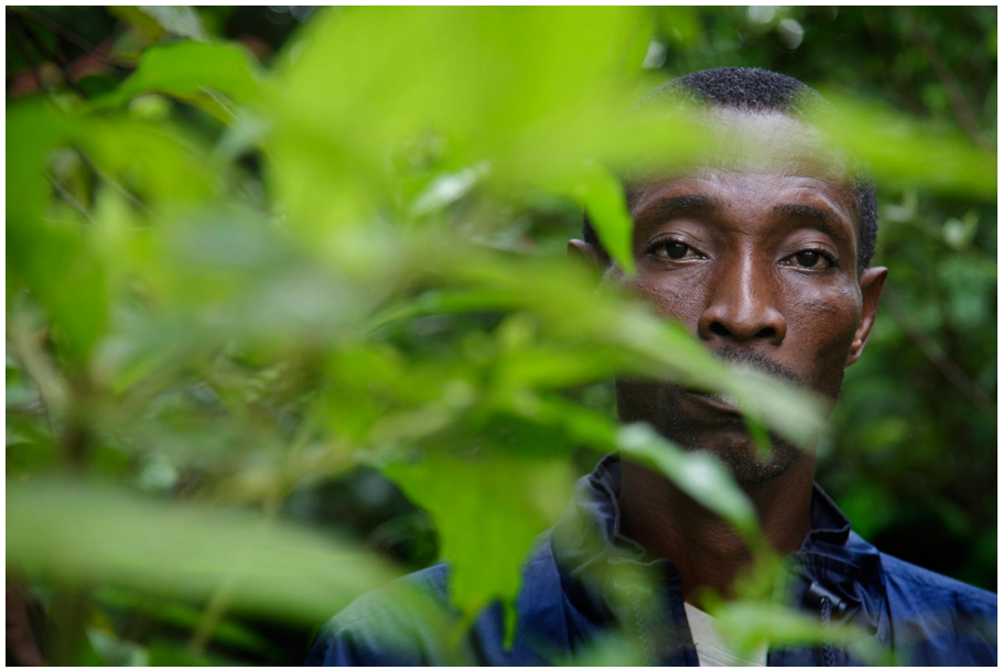 Benedict Manewah, 48, hid in the bush to avoid police after the riot. Photo by Kuni Takahashi.