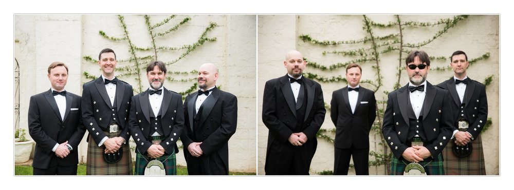 I'm fairly certain that groomsmen don't know HOW to take all serious photos. But this group was a LOT of fun. Pretty sure I was laughing all the way through this part of the day.