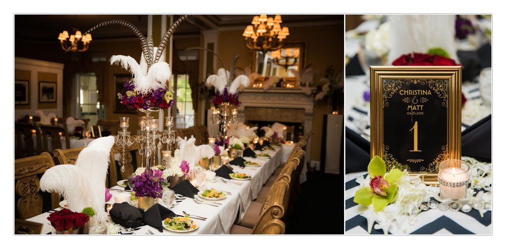 Larry from Flowers by Larry does SO much more than make bouquets! He and Christina collaborated on this STUNNING reception and the result was absolutely PERFECT.
