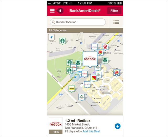 BankAmeriDeals: handset