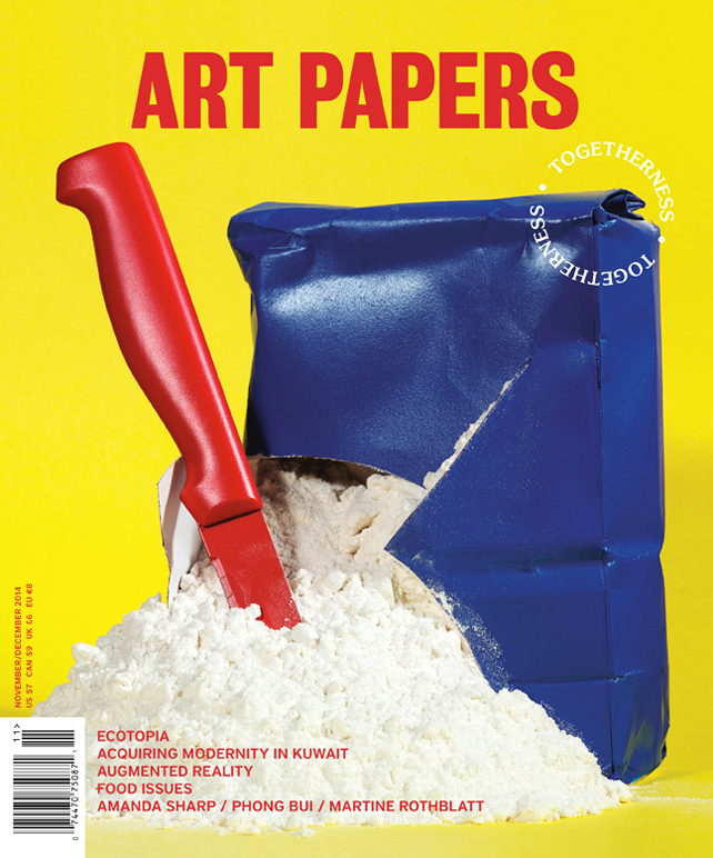 ART PAPERS Nov/Dec 2014 Cover