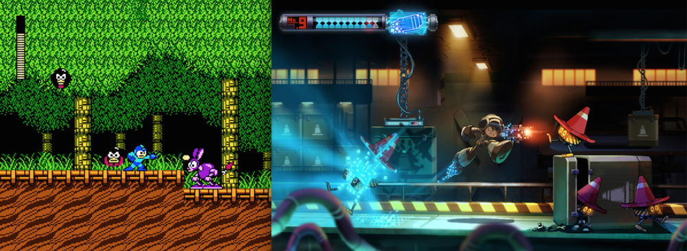 Can Beck of Mighty No. 9 fill Mega Man's blue shoes?
