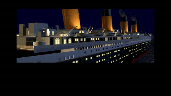 Behold! Early 90's CG Titanic!
