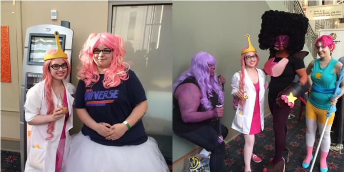 An Adventure Time/Steven Universe cross over episodeneedsto happen.