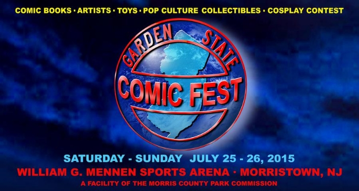 Click on that image to be taken to the official Garden State Comic Fest website. It's very blue!