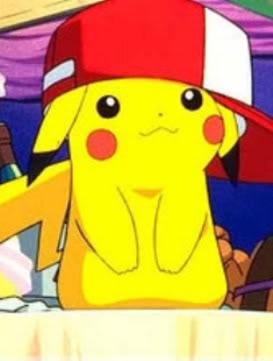 This is Pikachu. From Pokemon. Wearing a hat. You're welcome.