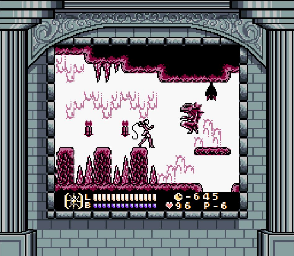 Not the most exciting Super Game Boy border ever made, but support is always nice.