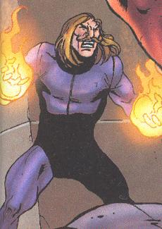 Purple really brings out the color of his homicidal tendencies.