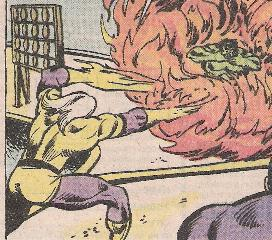 The Hulk! The Hulk! The Hulk is on fire! We don't need no water let the…
