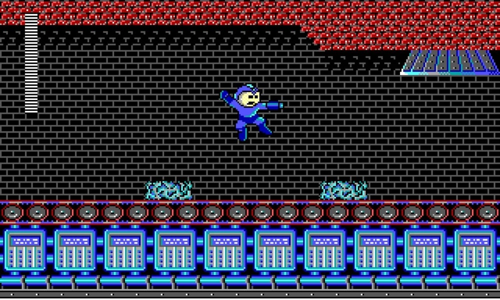 Mega Man's looked worse, but not much.