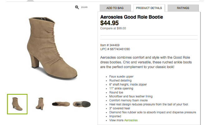 These ankle booties from DSW would look super cute with a casual Rey cosplay!
