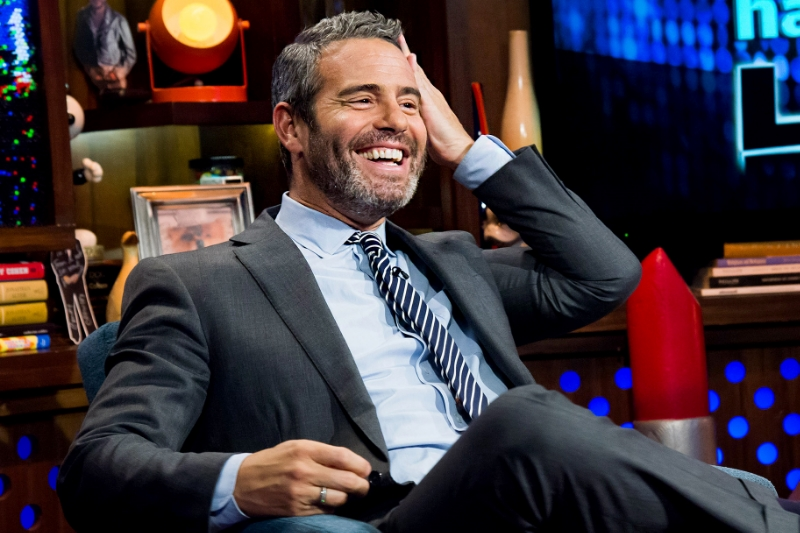 Andy Cohen is definitely not a nasty lady.