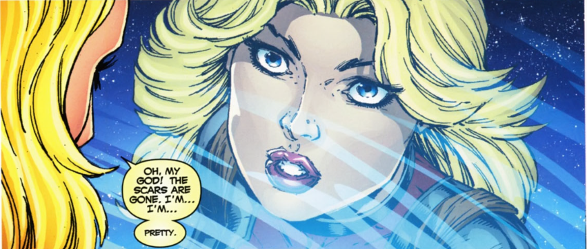 And since Liefeld drew you, you're probably also pretty disproportionate.