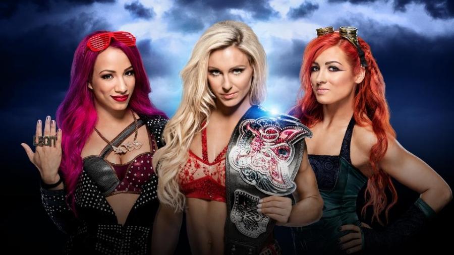 Sasha Banks vs Charlotte (C) vs Becky Lynch
