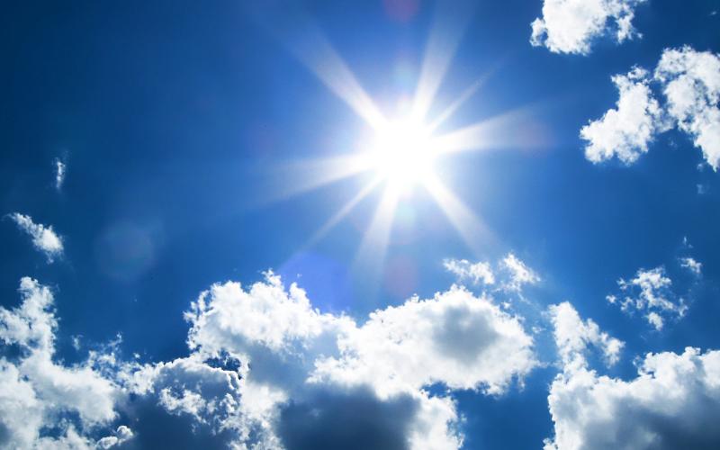 Sun, Sun, Mr. Golden Sun, please do my laundry.