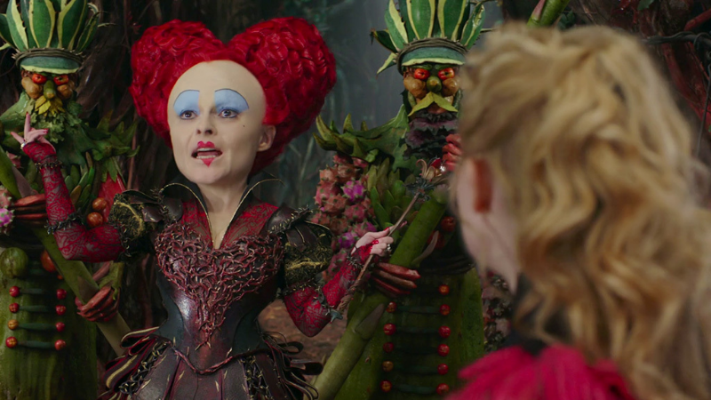 Alice faces off against the Red Queen once again.