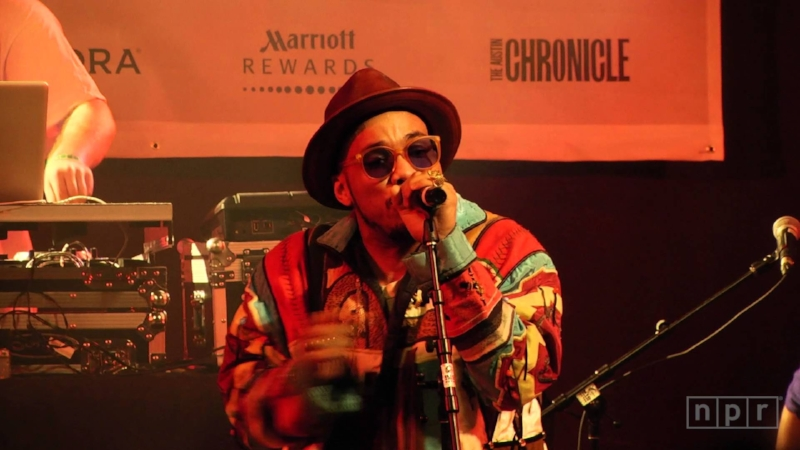Anderson .Paak performing live at SXSW 2016