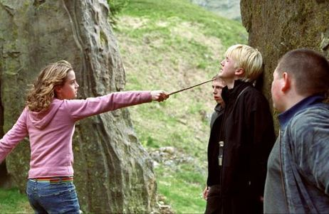 Seriously, why is the series not called Hermione Granger Kicks Ass at Hogwarts?