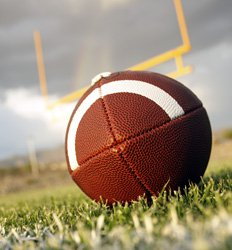 This is a football. You're welcome.