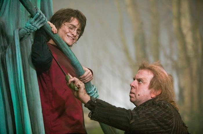 Harry's chilling confrontation with Wormtail