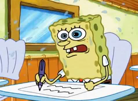 Me trying to write this.