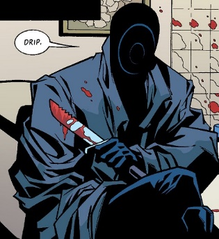 Trust me, sir, I've been called far worse. (Art by Phil Hester)