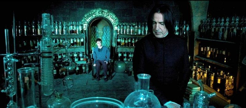 Snape, could you just give him a hint of how to perform occlumency, instead of just telling him to do it and yelling when he didn't do it?