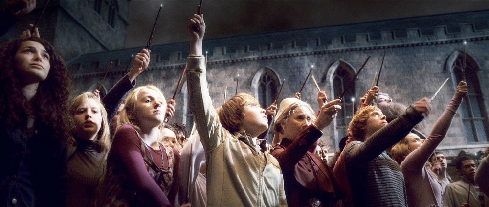 Wands up.