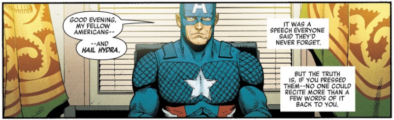 Must fight…the urge…to make political commentary… (Art by Steve McNiven)