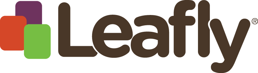 you can view our menu on leafly