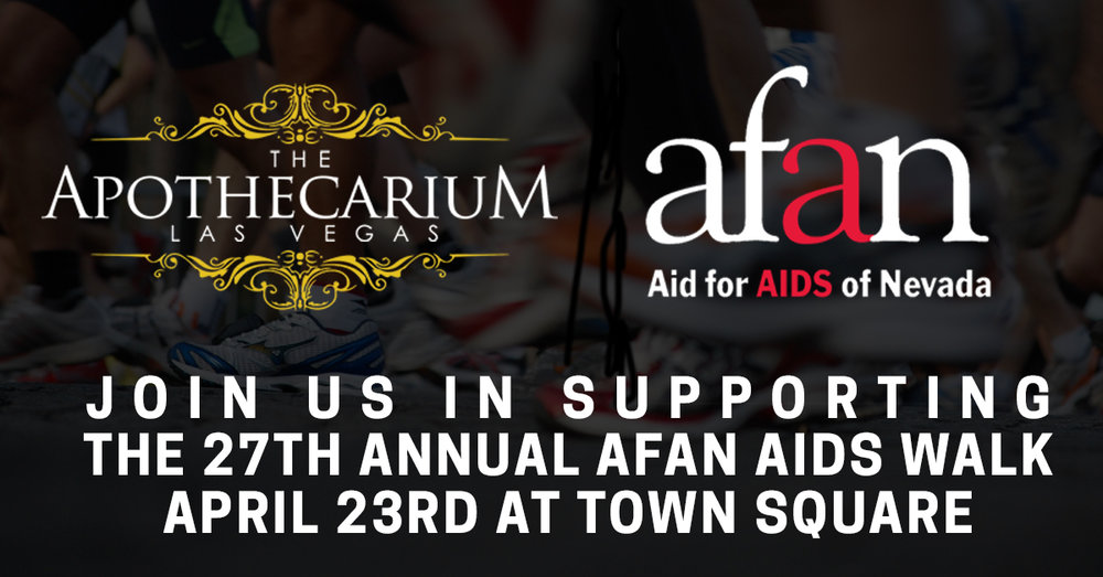 the apothecarium las vegas discusses its partnership with afan for their 27th annual aids walk