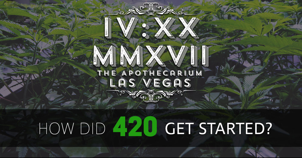 the apothecarium las vegas a cannabis dispensary discusses the origins of 420
