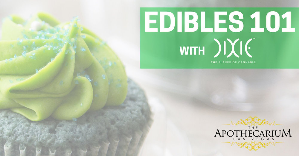 the apothecarium las vegas a recreational and medical dispensary pairs up with Dixie Elixirs to teach edibles 101 to the new recreational guests