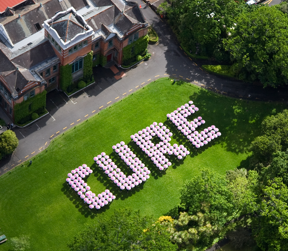 CURE at Auckland Girls Grammar School for the Breast Cancer Cure Trust