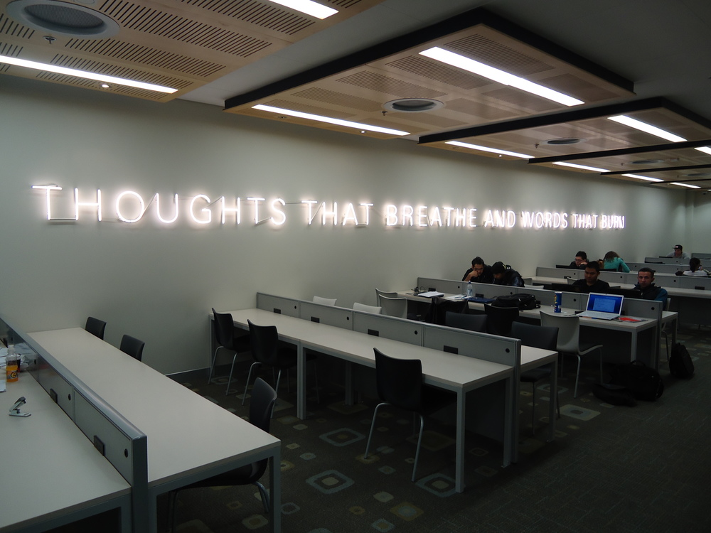 Massey University, Albany campus business school  Mary Louise Brown , Thoughts that breathe and words that burn