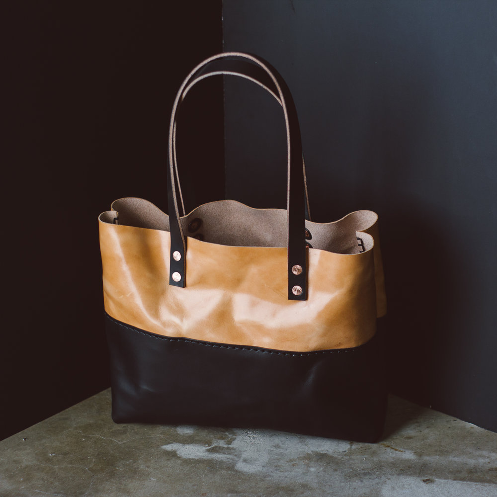 Russet and Black Tote Bag... 5/5 Stars!  -
